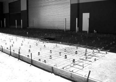 Driveways built by Soligo Concrete Constructions Sydney NSW Australia. Concrete driveways are used around factory areas or commercial premises to link buildings.